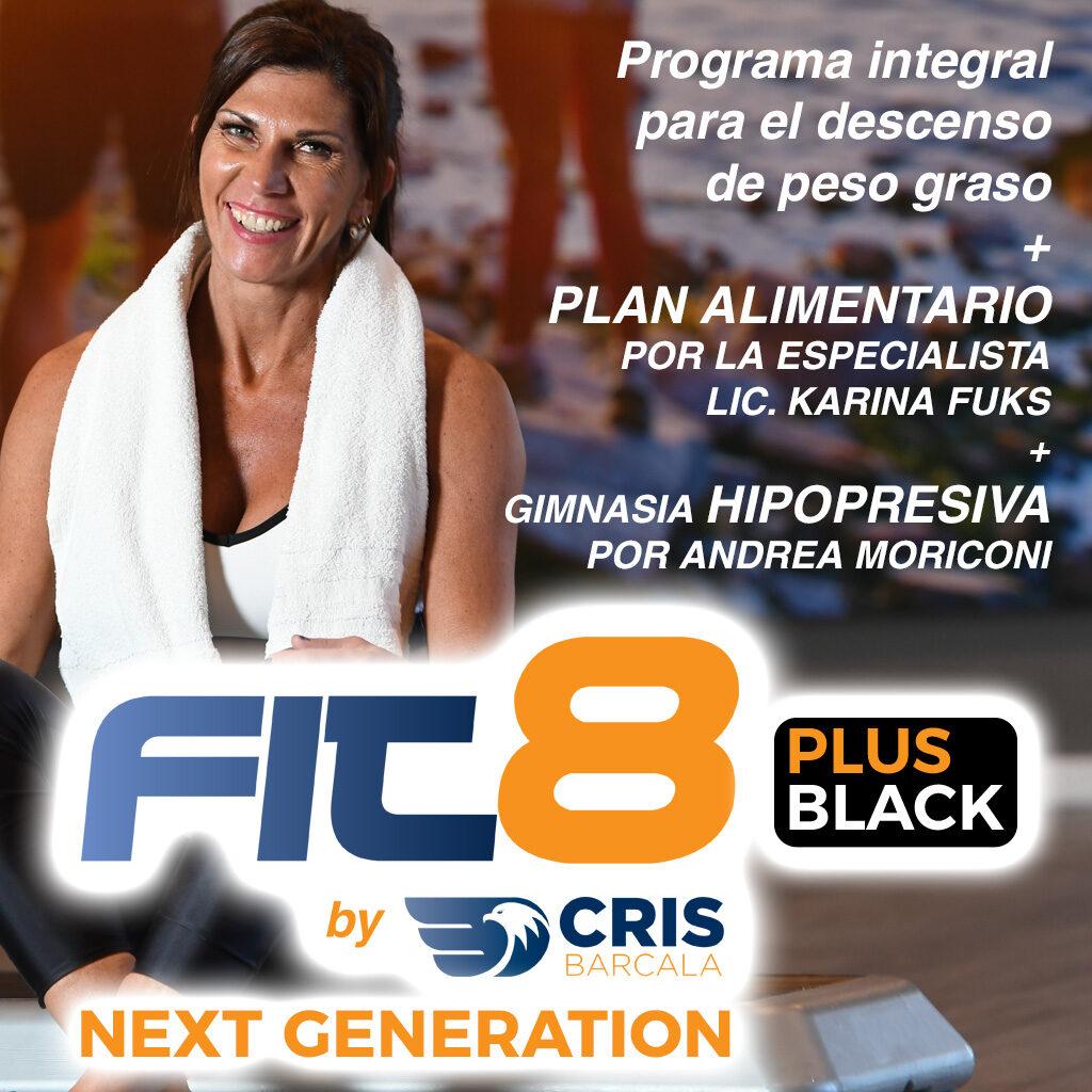 fit8 plus BLACK